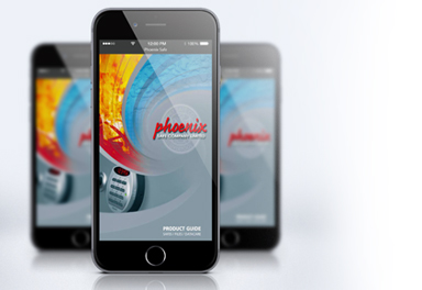 The Phoenix Safe app for Android and iPhone