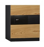 Phoenix Next LS7001FO Luxury Safe Size 1 in Oak with Fingerprint Lock 1