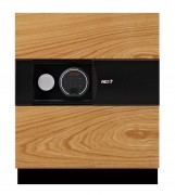 Phoenix Next LS7001FO Luxury Safe Size 1 in Oak with Fingerprint Lock 0