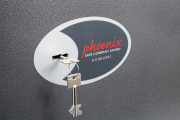 Phoenix Lynx SS1171K Size 1 Security Safe with Key Lock 5