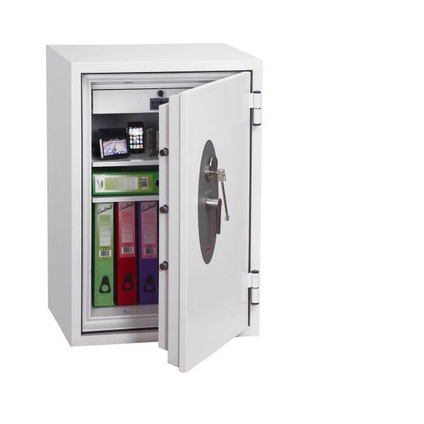 Phoenix Fire Fox SS1621K Size 1 Fire & S2 Security Safe with Key Lock