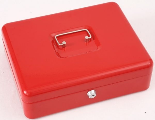 "Phoenix 12"" Cash Box CB0103K with Key Lock"