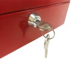 "Phoenix 8"" Cash Box CB0101K with Key Lock 0"