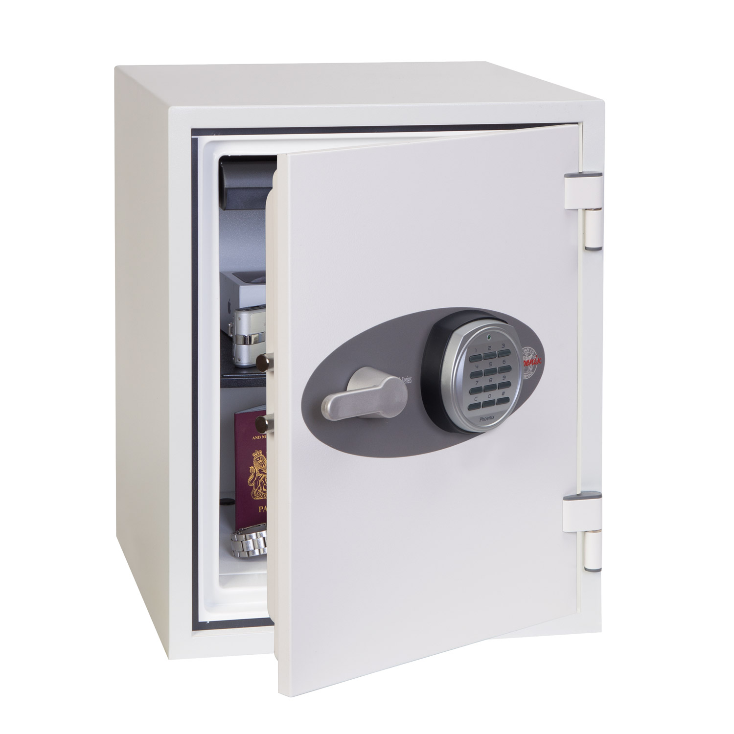 Phoenix Titan Fs1283e Size 3 Fire Security Safe With Electronic Lock Fire Security Safe Phoenix Safe