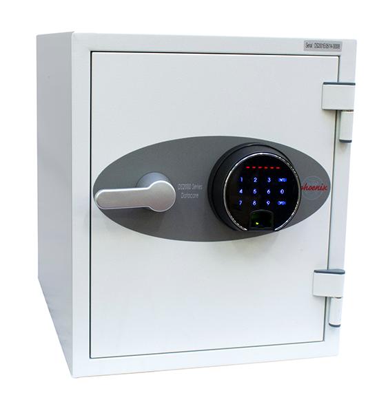 Phoenix Datacare DS2001F Size 1 Data Safe with Fingerprint Lock