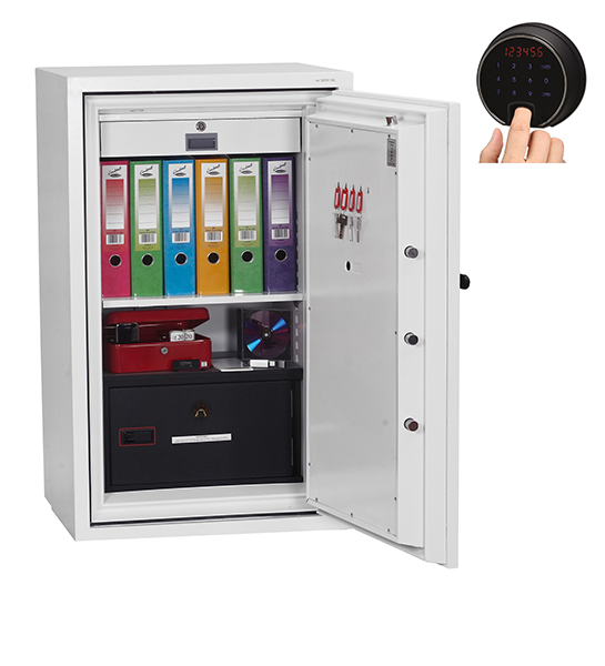 Phoenix Datacombi DS2503F Size 3 Data Safe with Fingerprint Lock