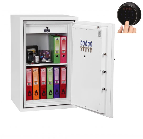 Phoenix Fire Fighter FS0443F Size 3 Fire Safe with Fingerprint Lock