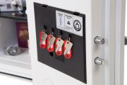Phoenix Titan FS1281K Size 1 Fire & Security Safe with Key Lock 8