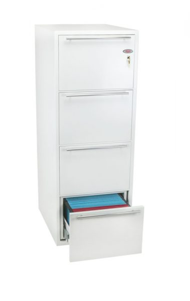 Phoenix Archivo Fire File FS2234K 4 Drawer Filing Cabinet with Key Lock