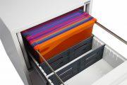 Phoenix World Class Vertical Fire File FS2252F 2 Drawer Filing Cabinet with Fingerprint Lock 8