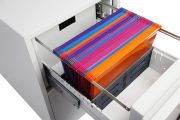Phoenix World Class Vertical Fire File FS2252F 2 Drawer Filing Cabinet with Fingerprint Lock 9