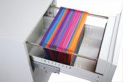 Phoenix World Class Vertical Fire File FS2254K 4 Drawer Filing Cabinet with Key Lock 10