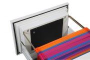 Phoenix World Class Vertical Fire File FS2254K 4 Drawer Filing Cabinet with Key Lock 11