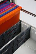 Phoenix World Class Vertical Fire File FS2254K 4 Drawer Filing Cabinet with Key Lock 8