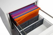 Phoenix World Class Vertical Fire File FS2262F 2 Drawer Filing Cabinet with Fingerprint Lock 7