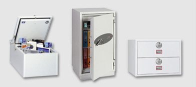 Filing cabinet safes and fireproof cabinets