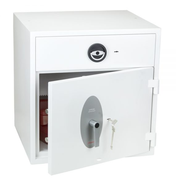 Phoenix Diamond Deposit HS1091KD Size 2 High Security Euro Grade 1 Deposit Safe with Key Lock