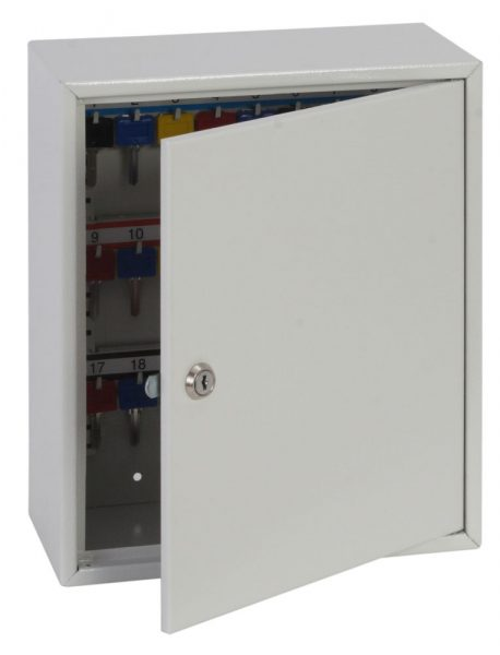Phoenix Deep Key Cabinet KC0301K 50 Hook with Key Lock