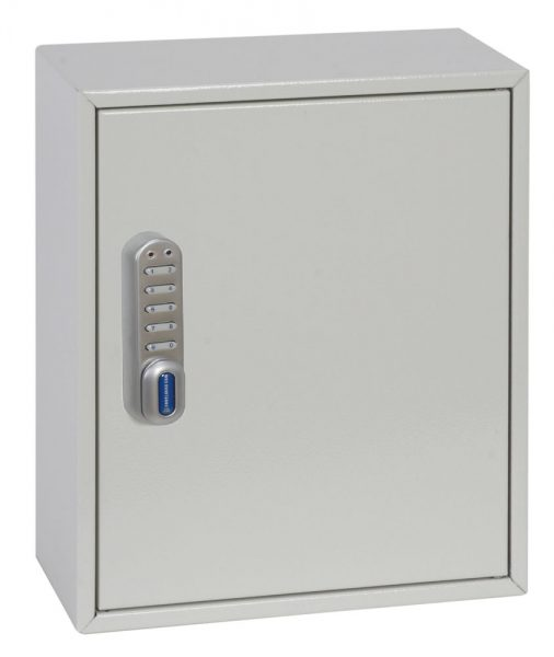 Phoenix Deep Plus & Padlock Key Cabinet KC0501E 24 Hook with Electronic Code Lock