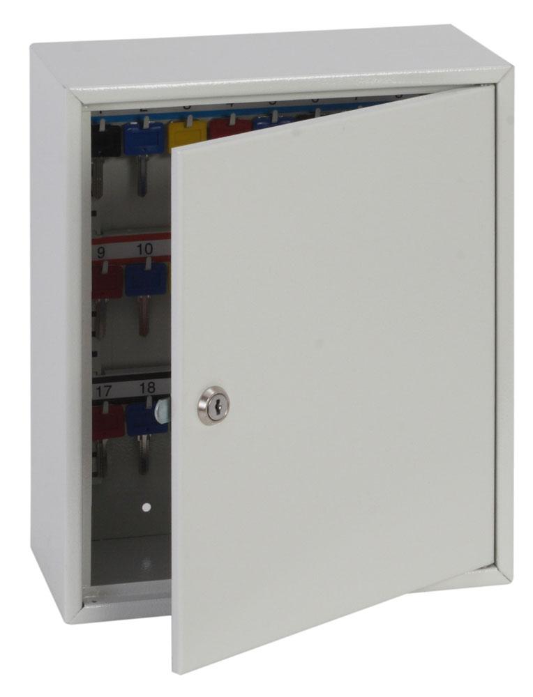 Phoenix Deep Plus & Padlock Key Cabinet KC0501K 24 Hook with Key Lock