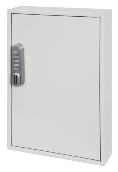 Phoenix Deep Plus & Padlock Key Cabinet KC0502E 50 Hook with Electronic Code Lock