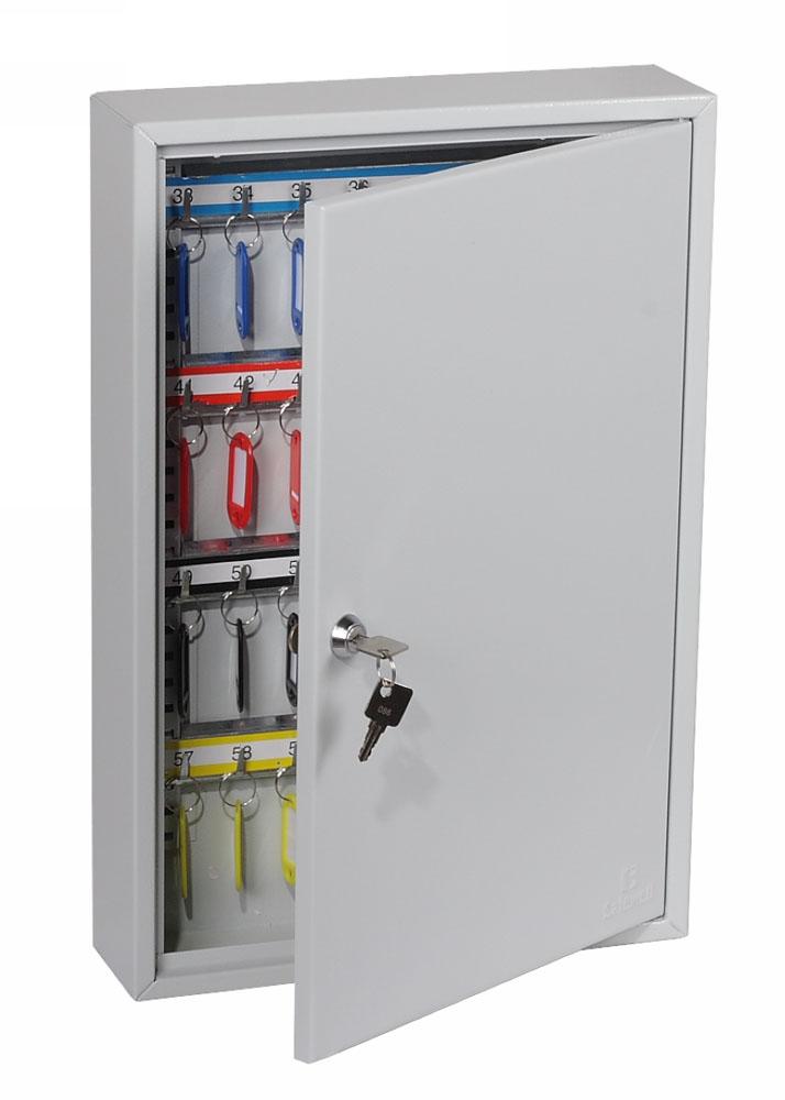 Phoenix Commercial Key Cabinet KC0602K 64 Hook with Key Lock.