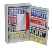 Phoenix Commercial Key Cabinet KC0602K 64 Hook with Key Lock. 1
