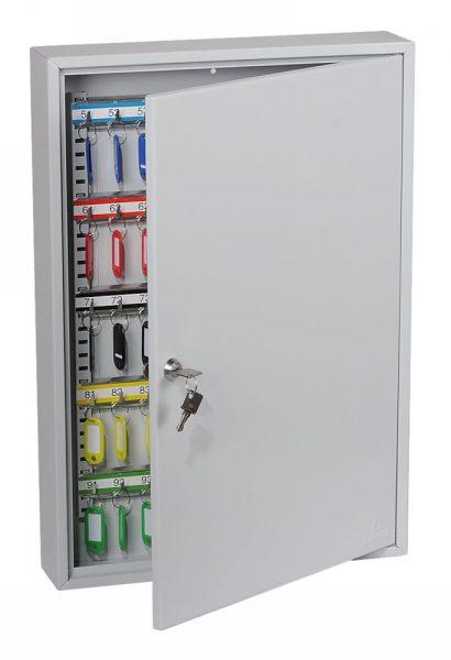 Phoenix Commercial Key Cabinet KC0603K 100 Hook with Key Lock.