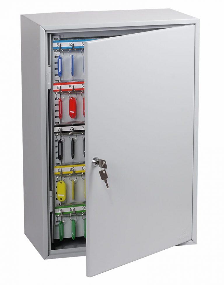 Phoenix Commercial Key Cabinet KC0604K 200 Hook with Key Lock.