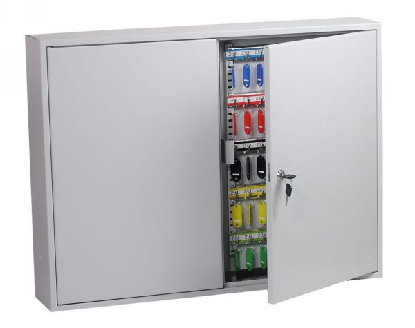 Phoenix Commercial Key Cabinet KC0607K 600 Hook with Key Lock.
