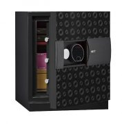Phoenix Next LS7001FB Luxury Safe Size 1 in Black with Fingerprint Lock 0