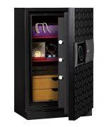 Phoenix Next LS7002FB Luxury Safe Size 2 in Black with Fingerprint Lock 1