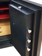 Phoenix Next LS7002FB Luxury Safe Size 2 in Black with Fingerprint Lock 10