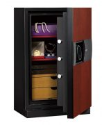 Phoenix Next LS7002FC Luxury Safe Size 2 in Cherry with Fingerprint Lock 1