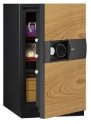 Phoenix Next LS7003FO Luxury Safe Size 3 in Oak with Fingerprint Lock 0