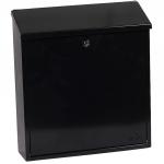 Phoenix Casa Top Loading Letter Box MB0111KB in Black with Key Lock 0