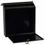 Phoenix Casa Top Loading Letter Box MB0111KB in Black with Key Lock 2