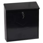 Phoenix Casa Top Loading Letter Box MB0111KB in Black with Key Lock 3