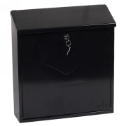 Phoenix Casa Top Loading Letter Box MB0111KB in Black with Key Lock 3