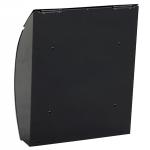 Phoenix Curvo Top Loading Letter Box MB0112KB in Black with Key Lock 2