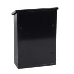 Phoenix Villa Top Loading Letter Box MB0114KB in Black with Key Lock 2