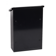 Phoenix Villa Top Loading Letter Box MB0114KB in Black with Key Lock 2