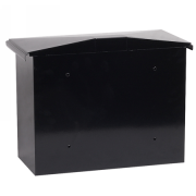 Phoenix Libro Front Loading Letter Box MB0115KB in Black with Key Lock 3