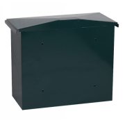Phoenix Libro Front Loading Letter box MB0115KG in Green with Key Lock 0