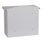 Phoenix Libro Front Loading Letter Box MB0115KW in White with Key Lock 3