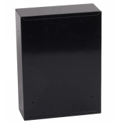 Phoenix Letra Front Loading Letter Box MB0116KB in Black with Key Lock 2