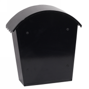 Phoenix Clasico Front Loading Letter Box MB0117KB in Black with Key Lock 3