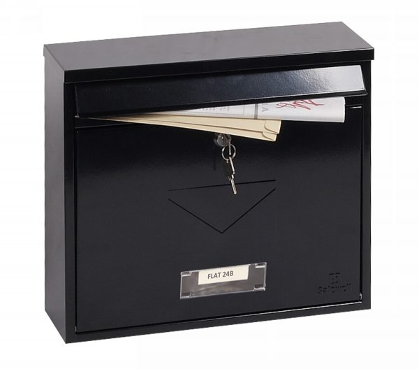Correo Front Loading Letter Box MB0118KB