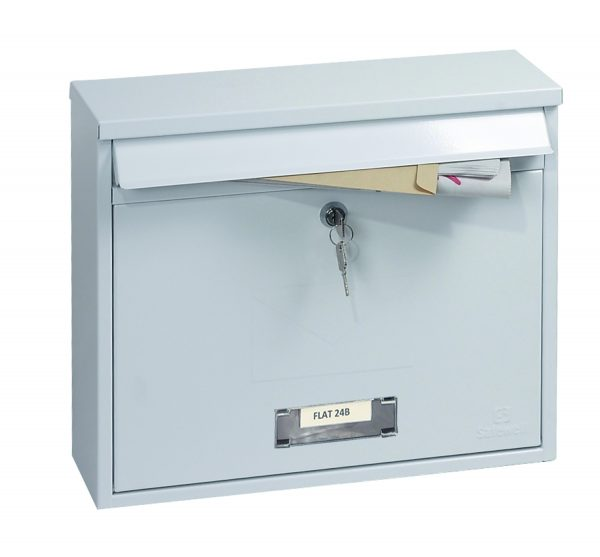 Correo Front Loading Letter Box MB0118KW