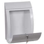 Curvo Top Loading Letter Box MB0112KW 1